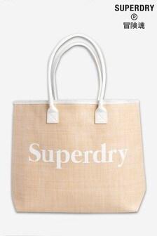 Superdry Darcy Jute Tote Bag