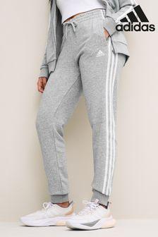 adidas 3 Stripe Grey Joggers
