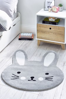 Bunny Shaped Rug