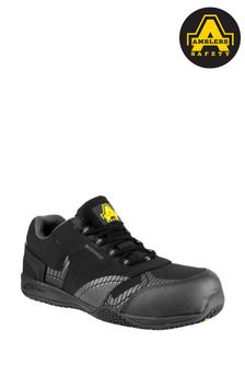 Amblers Safety Black FS29C Waterproof Safety Trainers