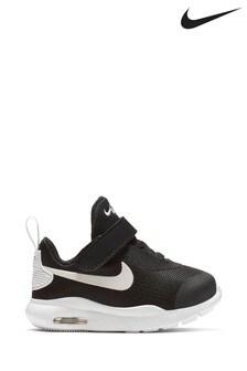 Nike Black/White Air Max Oketo Infant Trainers