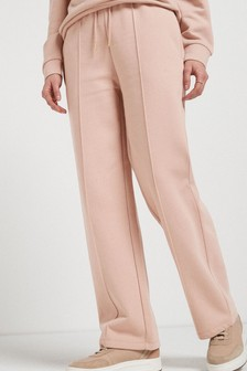 Taupe Co-ord Wide Leg Joggers