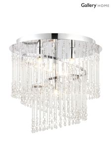 Yves Flush Ceiling Light by Gallery Direct
