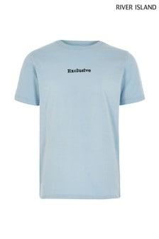 River Island Blue Light Exclusive T-Shirt