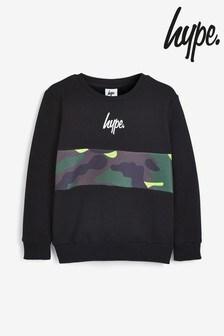 Hype. Neon Camo Crew Sweater