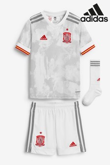 adidas Spain Away Football Kids Mini Kit