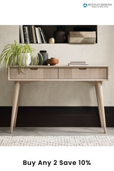 Dansk Scandi Console Table with Drawers by Bentley Designs