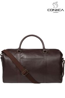 Conkca Orton Leather Holdall