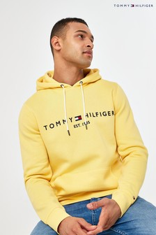 Tommy Hilfiger Yellow Tommy Logo Hoody