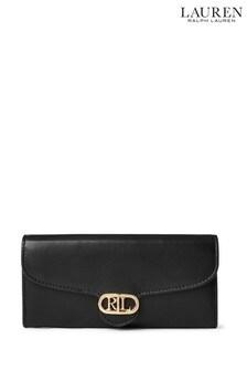 Lauren Ralph Lauren Logo Large Leather Wallet