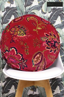 Malisa Round Velvet Cushion by Riva Home