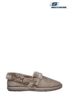 Skechers® Brown Cozy Campfire Team Toasty Slippers