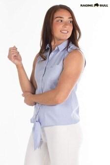 Raging Bull Chambray Oxford Sleeveless Shirt