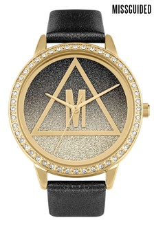 Missguided Glitter Watch