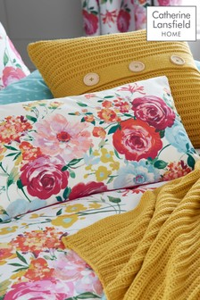 Salisbury Bright Floral Cushion by Catherine Lansfield