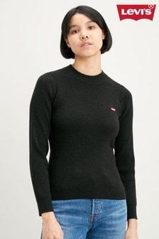Levi's® Black Ribbed Sweater