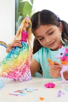 Barbie™ Dreamtopia Playset with Barbie® Doll, Pet Unicorn & Color Change Potty Feature
