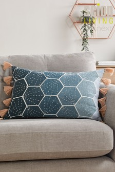Scion Living Exclusively At Next Aikyo Embroidery Cushion