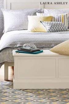 Ashwell Cotton White Blanket Box by Laura Ashley