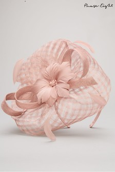 Phase Eight Pink Danna Flower Disc Fascinator