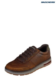 Skechers® Brown Evenston Fanton Trainers