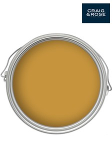 Chalky Emulsion French Ochre 50ml Paint Tester Pot by Craig & Rose
