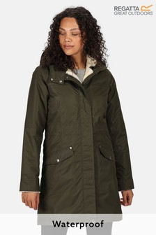 Regatta Green Rimona Waterproof Jacket