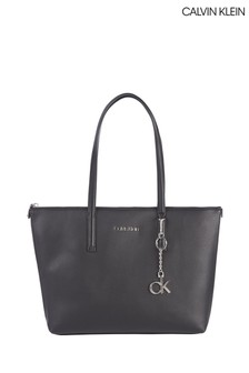 Calvin Klein Black Medium Shopper