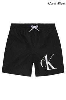 Calvin Klein Black CK One Drawstring Swim Shorts