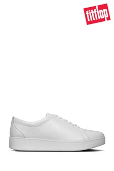 FitFlop™ Rally Leather Sneakers