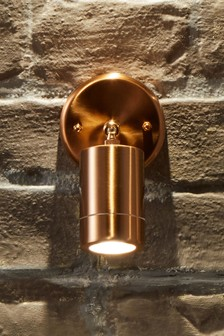 Copper Adjustable Directional Spot Light by Pacific