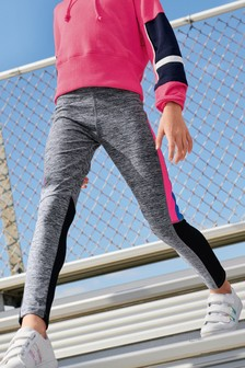 Navy/Pink Sports Leggings (3-16yrs)