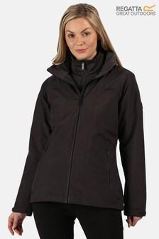 Regatta Grey Womens Shrigley 3-In-1 Waterproof Jacket