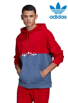 adidas Originals Red Slice Pullover Hoodie