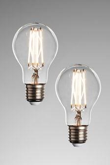 2 Pack 6W LED ES GLS Bulbs