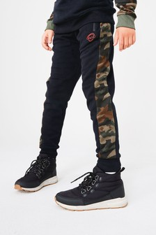 Camouflage Joggers Colourblock Print (3-16yrs)