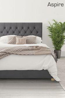 Steel Aspire Olivier Ottoman Bed