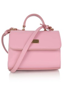 Girls Pink Patent Leather Bag