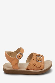 Apricot Standard Fit (F) Little Luxe™ Sandals