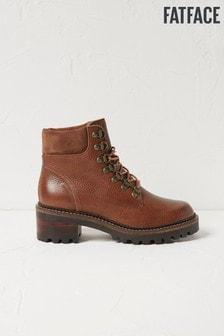 FatFace Brown Newbury Hiker Boots