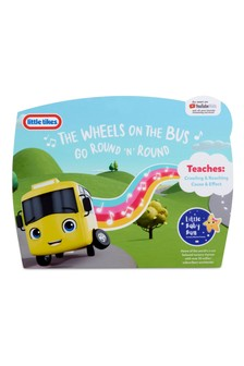 Little Tikes Little Baby Bum Wiggling Wheels On The Bus Plush Toy 652042P