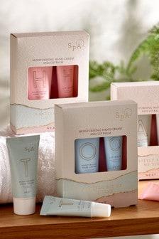 Spa Alphabet Hand Cream And Lip Balm Set