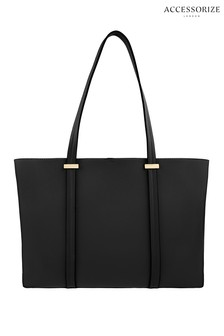 Accessorize Black Ali Tote Bag