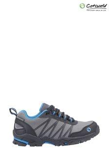 Cotswold Blue Littledean Lace-Up Hiking Waterproof Boots