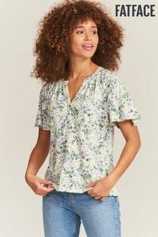 FatFace Natural Jamilla Garden Floral T-Shirt