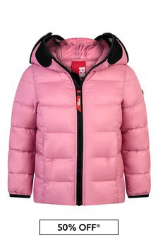 Girls Down Padded Jacket With Lenses