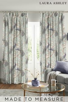 Laura Ashley Belvedere Duck Egg Made to Measure Curtains