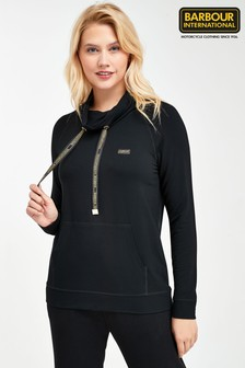 Barbour® International Black Lightweight Suspension Sweatshirt