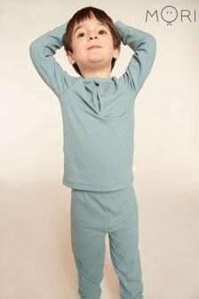 MORI Sky Ribbed Pyjamas