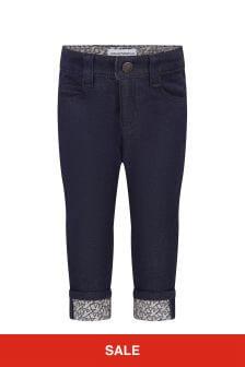 Emporio Armani Boys Navy Jeans